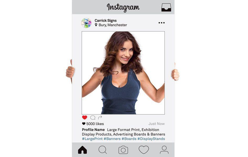 Instagram Photo Frame, Selfie Frame Printing, Photo Props ...